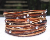 Wikkitz Bracelet in 3 Tone Brown - Best Seller!
