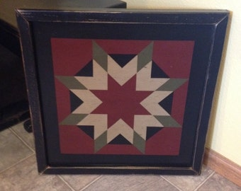 GIFT CERTIFICATE for a PriMiTiVe Hand-Painted Barn Quilt - 3' x 3'