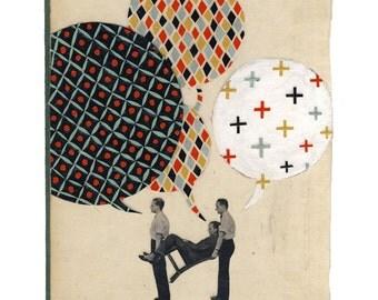 Small Talk 3 - Giclee Art Print - 11x14