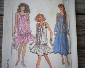 Simplicity Maternity Dress in Two Lengths Misses Size 10 12 14 Pattern 8701