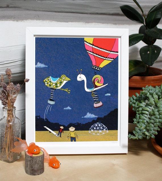 Playground Adventure print
