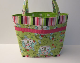SALE, LAST ONE, Designer Purse, LBs Sewing Sanity, Four Seasons Collection, Fabric Tote