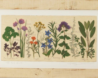 The Herb Garden (long version) - Artist Signed Fine Art Print