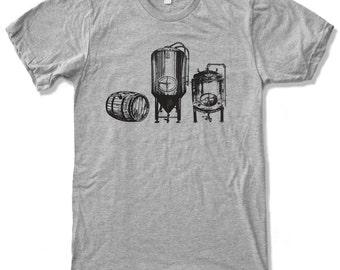 Men's BEER Making Craft Fermenters t shirt american apparel S M L XL XXL (+Color Options)