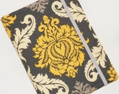 Kindle Fire Case, Kindle Paperwhite Cover, Nook Glow Light, all sizes, Crowne Damask eReader Cover