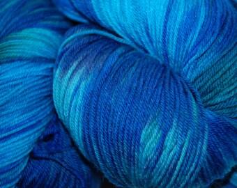 Studio June Yarn Sock Luck - Superwash Merino Wool, Nylon - Underwater Shadows