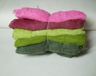 Briar Patch- 5pc Hand-Dyed Cheesecloth Combination