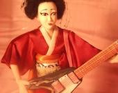 The Flying Maiko- OOAK Original Artist Doll