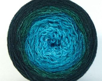 Fine Wishingstar Merino/Silk Lace Gradient Shawl Maki - Morphini
