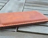 Xperia Z5, Xperia Z5 Compact, Xperia Z5 Premium Bio Leder Tasche / Hülle - PUMPKIN