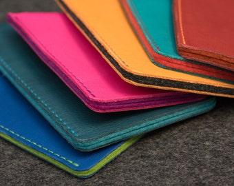 Note 5 I Note Edge I Note 4 Leather Sleeve - MOTLEY CREW (Organic Leather)