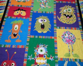 Mini Monster Quilt Pattern