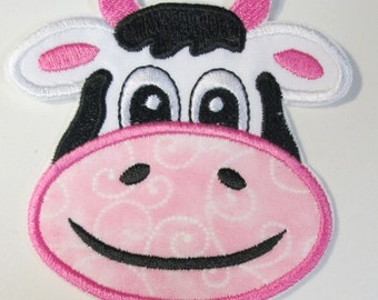 Iron On Applique - Freddy The Cow
