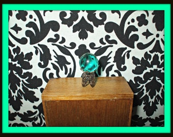 Gothic Fairy Witch Wizard Magic Crystalball dollhouse miniature