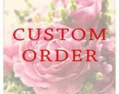 Custom Order Peonies Study