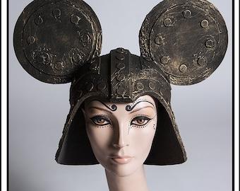 Good Lord… Darth Minnie Helmet in Distressed Metal Headdress