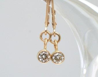 14k Forever Brilliant Moissanite Drop Earrings