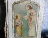 child's guide to jesus tiny antique book 1912