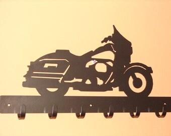 Road King Motorcycle COAT RACK Robe Hook Metal Cabin Harley Shop Garage Street Glide