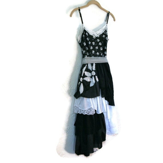 upcycled clothing . XS - S . slip dress . head over heels