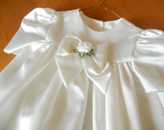 toddler dress, vintage dress, 2T, Easter dress, party dress, ivory color