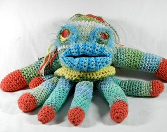 Cotton Crochet Squid Octopus Plush Animal