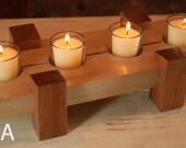 Table Centerpiece - 4 Votive Candle Holder