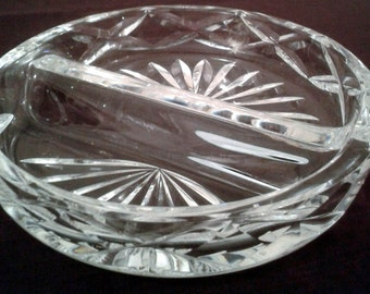 CLEARANCE PRICED - Crystal Ash Tray