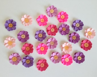 Paper Flowers Embellishments