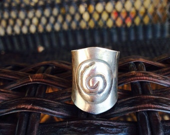 Hill Tribe Silver Swirl Ring