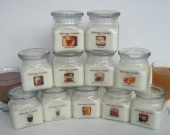 HOT DRINKS for a Cold Day - 10oz Soy Jar Candle (15% discount)
