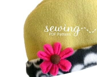 Bobbi Jo Hat - INSTANT DOWNLOAD -PDF Sewing Pattern
