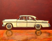 "205 Chrysler Windsor 1956 – print 38x38cm/15x15"""