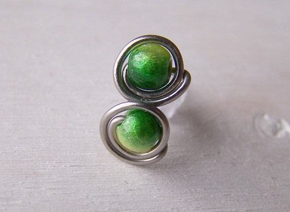 grade titanium earrings titanium post stud earrings green for senstive ears 9156