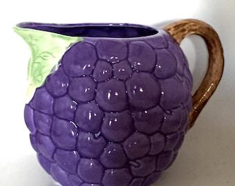 Vintage Grape Pitcher