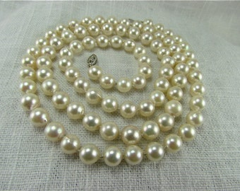 7.0-7.5mm Cultured Pearl Necklace.