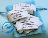Multiple Packages Iron On 1 x 2 Inch Custom Clothing Labels
