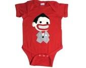 Kawaii Pee Wee Herman-ish Infant Bodysuit