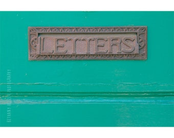 Door Photography, Typography, Maine Photography, Camden Maine, Street Photography, New England, Industrial Art, VIntage Mailbox