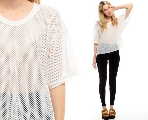 Sheer White T Shirt