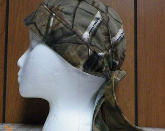 Brown Olive Green, ETC. Camouflage Do Rag Skull Cap Second