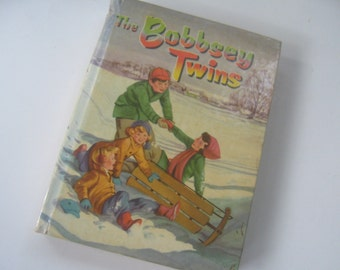 Vintage Book Bobbsey Twins Merry Days Children Story