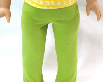 Handmade Doll Clothes Fits 18 Inch Dolls Yoga Pants