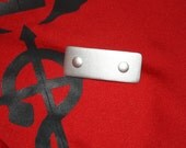Full Metal Alchemist, Edward Elric, silver clasp clip for black coat