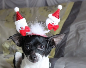 Christmas hat for dog or cat