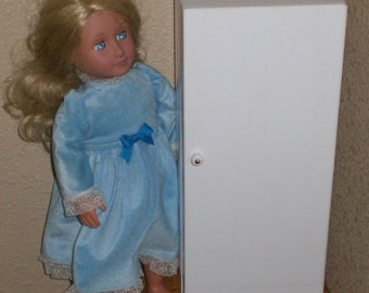 Kitchen Refrigerator for American Girl size doll by Judy Illi Crafts