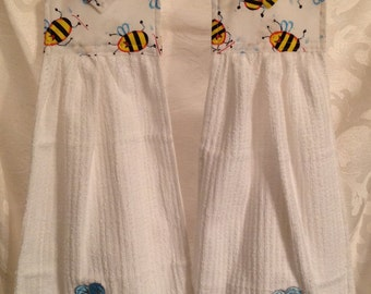 Bees - Cloth Kitchen Towel