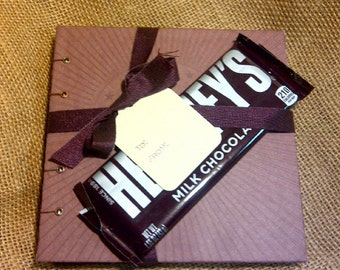SALE Chocolate Lovers Blank Journal Recipe Book GIft Set