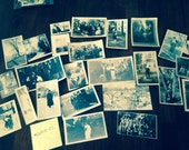 Vintage Black and White Photo Grab Bag - Dates Early to Mid 20th Century