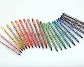 Custom Colors Glass Ink Pens, The Original Refillable Glass Ink Pen ©